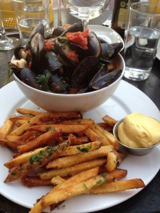Brasserie Four's moules frites